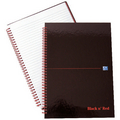 Black n Red A4 Notebooks