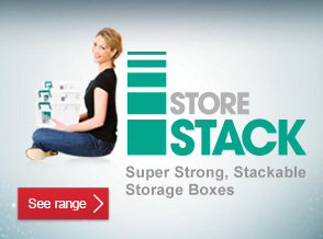See range of StoreStack Storage Boxes