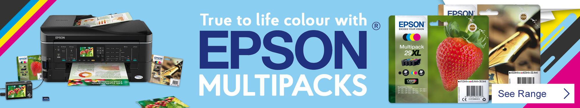 True to Life Photos and Graphics with Epson Multipacks