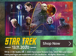 Shop Star Trek Stamps and Collectibles Here