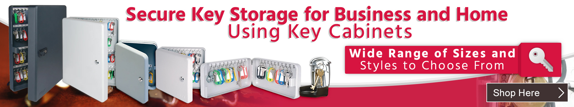 Secure Key Storage for Business and Home Using Key Cabinets