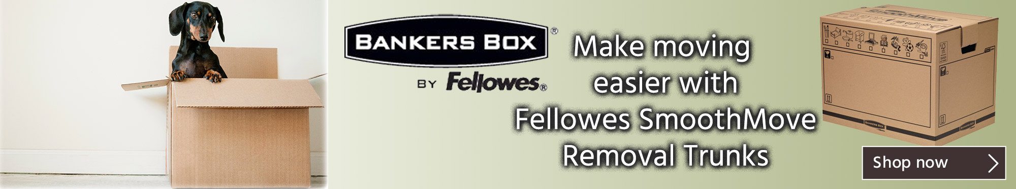 Fellowes SmoothMove Removal Trunks