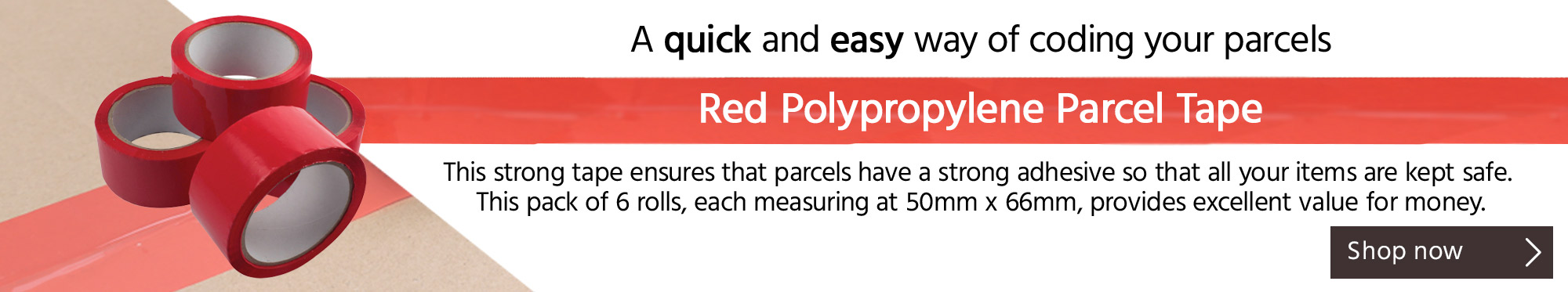 A Quick and Easy Way of Coding Your Parcels