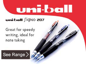 See range of uni-ball Signo 207 Rollerball Pens