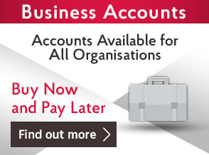 Business Accounts Available For All Organisations