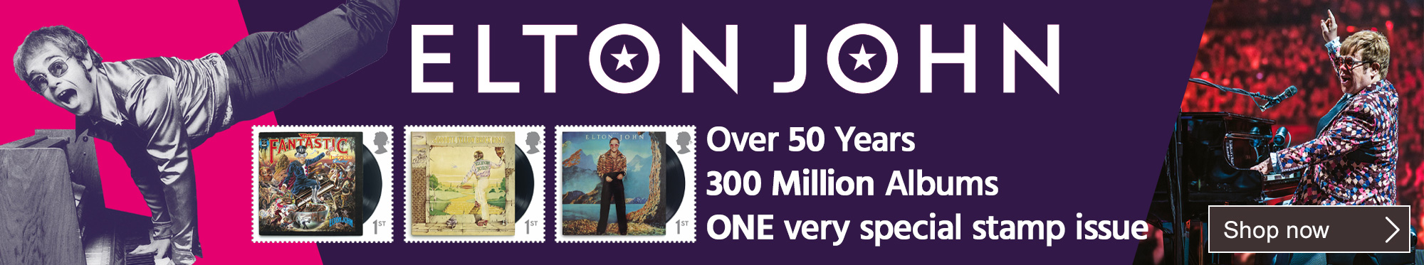 Elton John - One Very Special Stamp Issue