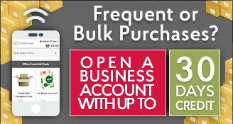 Bulk Buys - Open an Business Account Today!