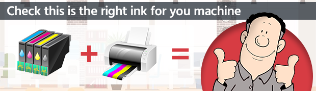 Check this is the right ink for you machine