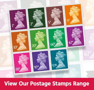 View Our Online Postage Stamp Range
