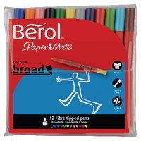 Berol Assorted Broad Felt Tipped Pens <TAG>BESTBUY</TAG>