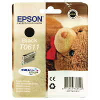 Epson T0611 Black Ink Cartridge <TAG>TOPSELLER</TAG>