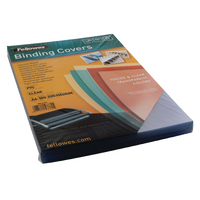 Fellowes A4 200 Micron Binding Covers<TAG>BESTBUY</TAG>