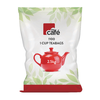 Mycafé One Cup Tea Bags, Pack of 1100<TAG>BESTBUY</TAG>