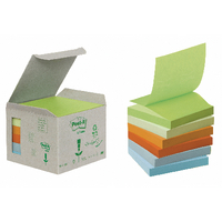 Post-it Recycled Z-Notes, Pack of 6<TAG>TOPSELLER</TAG>