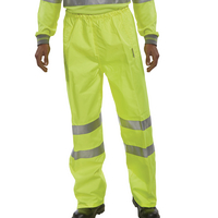 Large Yellow High Visibility Trousers <TAG>BESTBUY</TAG>